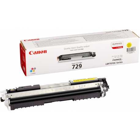 CANON CRG 729Y SIFIR SARI MUADİL TONER