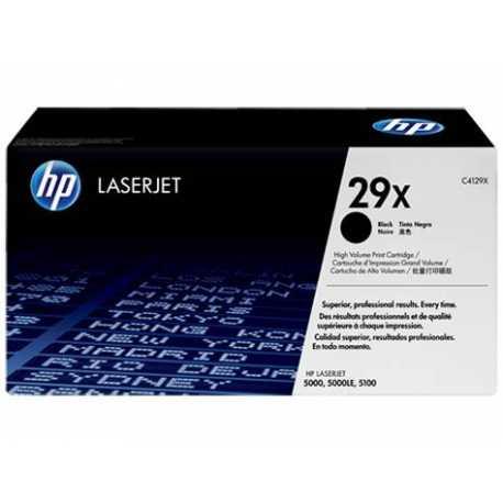 HP 29X Yüksek Verimli Siyah Orijinal LaserJet Toner Kartuşu C4129X