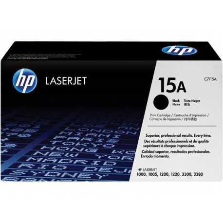 HP 15A Siyah Orijinal LaserJet Toner Kartuşu C7115A