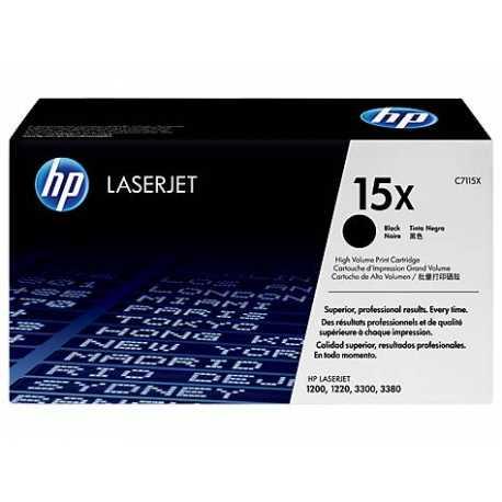HP 15XSiyah Orijinal LaserJet Toner Kartuşu C7115A