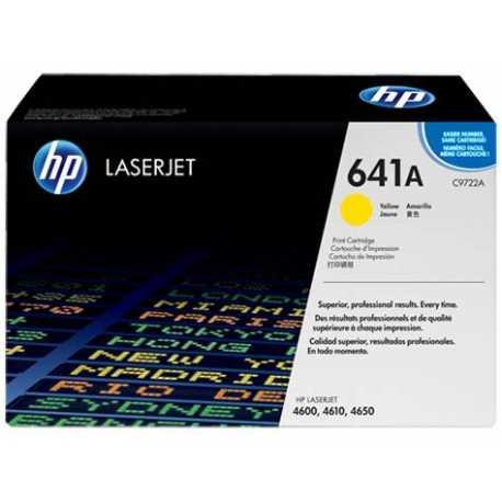HP 641A Sarı Orijinal LaserJet Toner Kartuşu (C9722A)