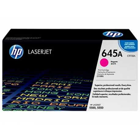 HP 645A KırmıızıOrijinal LaserJet Toner Kartuşu C9733A