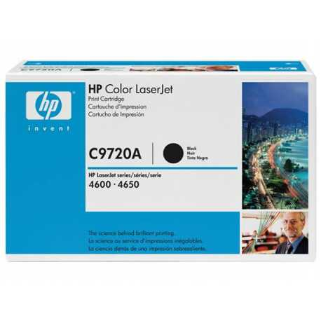 HP 641A Siyah Orijinal LaserJet Toner Kartuşu C9720A
