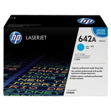 HP 642A Mavi Orijinal LaserJet Toner Kartuşu CB401A