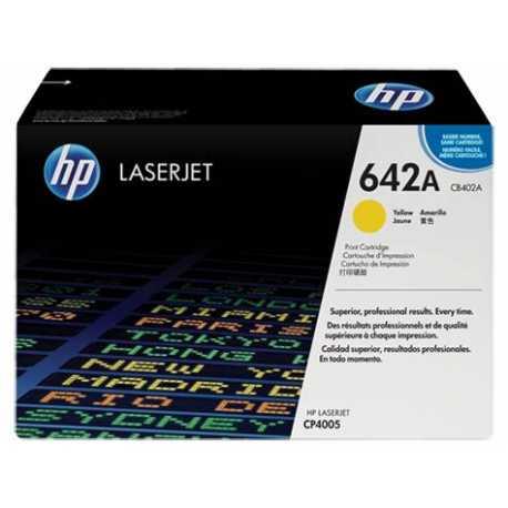 HP 642A Sarı Orijinal LaserJet Toner Kartuşu CB402A