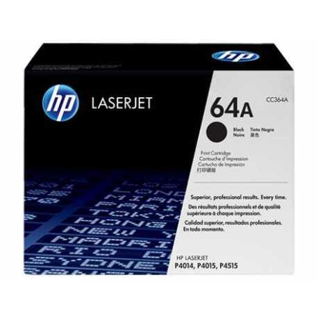 HP 64A Siyah Orijinal LaserJet Toner Kartuşu CC364A
