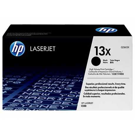 HP 13X Yüksek Kapasiteli Siyah Orijinal LaserJet Toner Kartuşu Q2613X