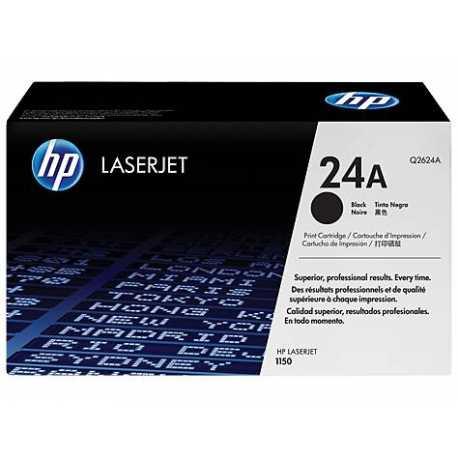 HP 24A Siyah Orijinal LaserJet Toner Kartuşu Q2624A