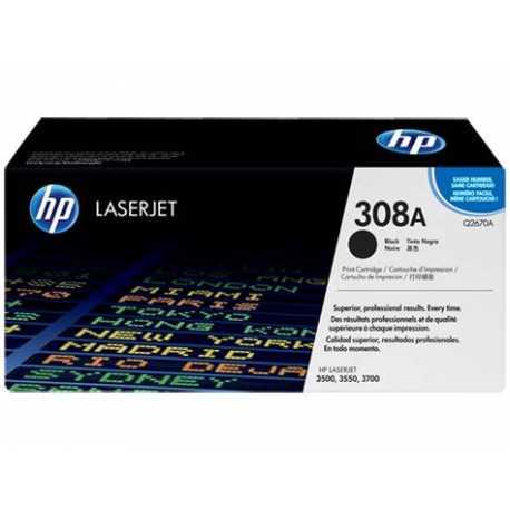 HP 308A Siyah Orijinal LaserJet Toner Kartuşu Q2670A