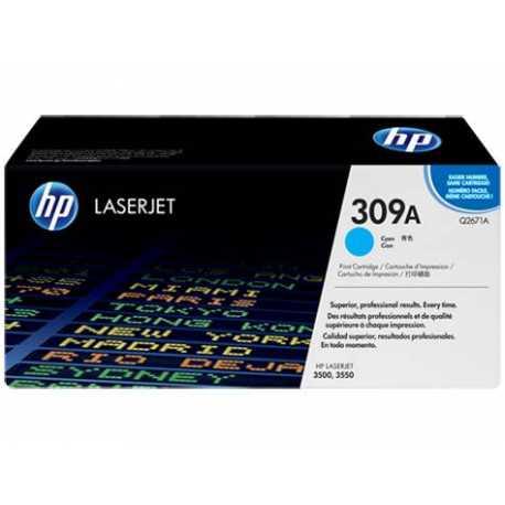 HP 309A Mavi Orijinal LaserJet Toner Kartuşu Q2671A