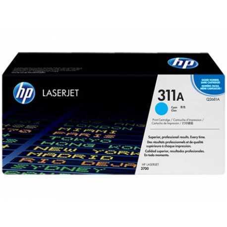 HP 311A Mavi Orijinal LaserJet Toner Kartuşu Q2681A