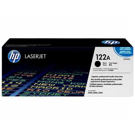 HP 122A Siyah Orijinal LaserJet Toner Kartuşu Q3960A