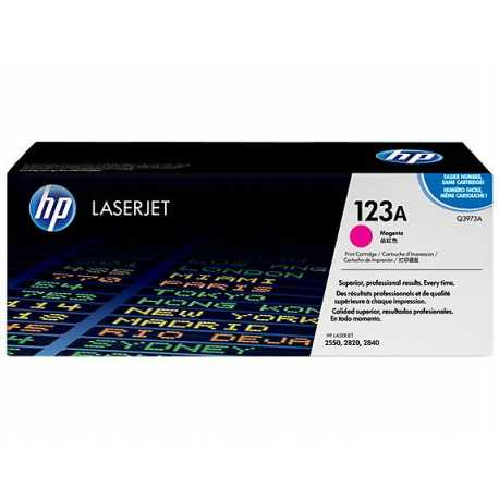 HP 123A Kırmızı Orijinal LaserJet Toner Kartuşu Q3973A