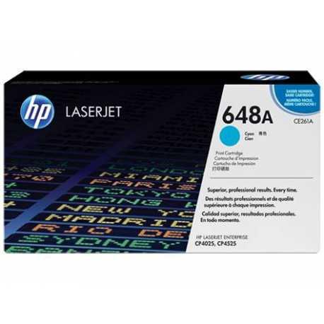 HP 648A Mavi Orijinal LaserJet Toner Kartuşu CE261A