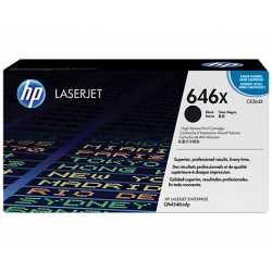 HP 646X Yüksek Kapasiteli Siyah Orijinal LaserJet Toner Kartuşu CE264X