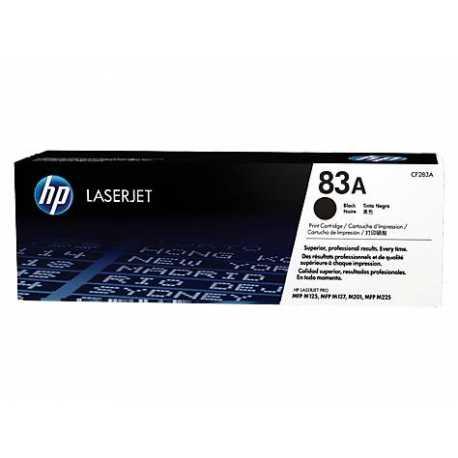 HP 83A Siyah Orijinal LaserJet Toner Kartuşu CF283A