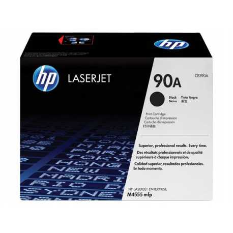 HP 90A Siyah Orijinal LaserJet Toner Kartuşu CE390A