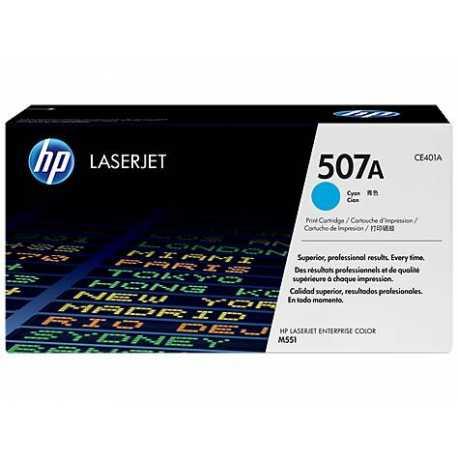 HP 507A Mavi Orijinal LaserJet Toner Kartuşu CE401A