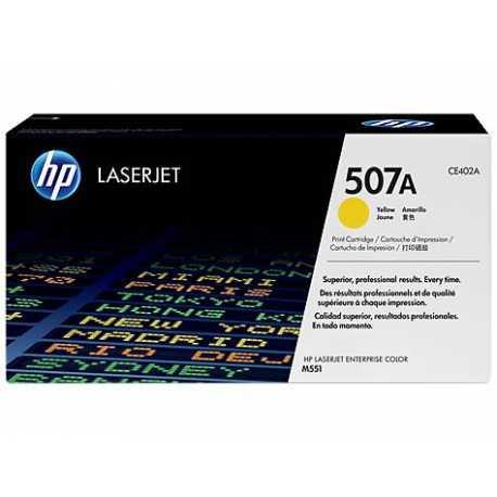 HP 507A Sarı Orijinal LaserJet Toner Kartuşu CE402A