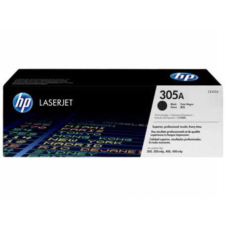 HP 305A Siyah Orijinal LaserJet Toner Kartuşu CE410A