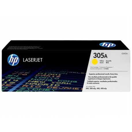 HP 305A Sarı Orijinal LaserJet Toner Kartuşu CE412A