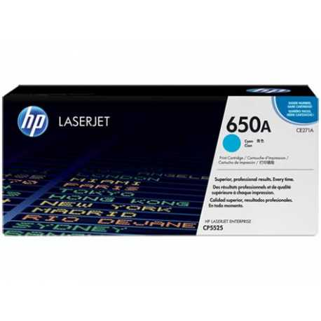 HP 650A Mavi Orijinal LaserJet Toner Kartuşu CE271A