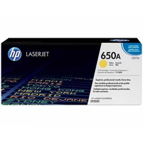 HP 650A Sarı Orijinal LaserJet Toner Kartuşu CE272A
