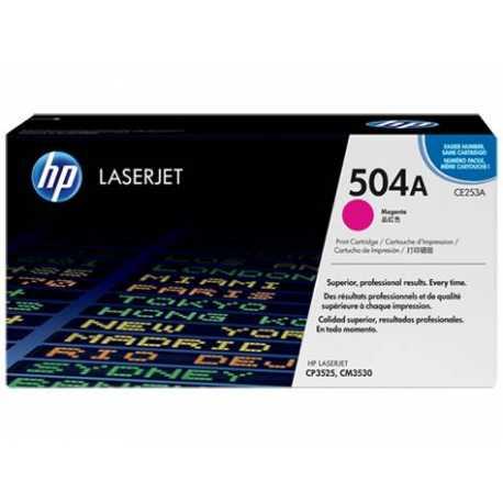 HP 504A Kırmızı Orijinal LaserJet Toner Kartuşu CE253A