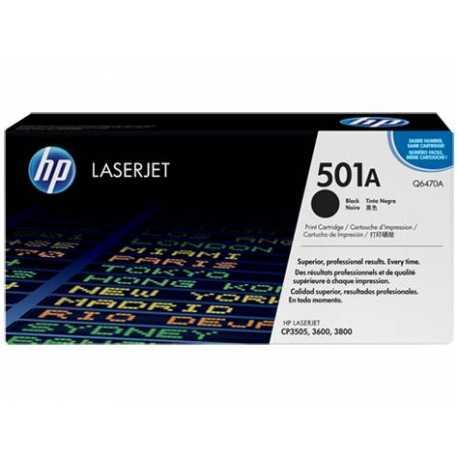 HP 501A Siyah Orijinal LaserJet Toner Kartuşu Q6470A