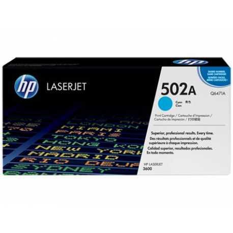 HP 502A Mavi Orijinal LaserJet Toner Kartuşu Q6471A