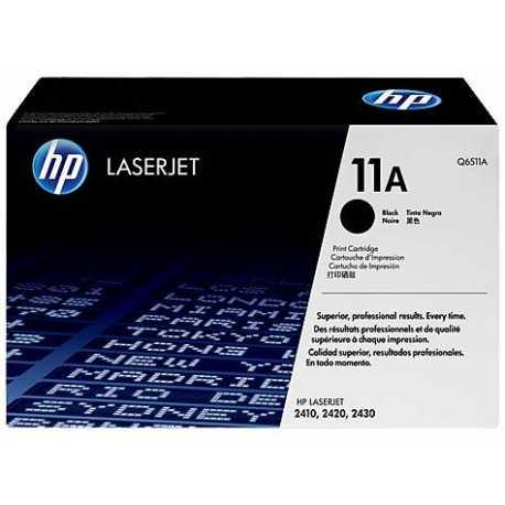 HP 11A Siyah Orijinal LaserJet Toner Kartuşu Q6511A