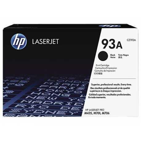 HP 93A Siyah Orijinal LaserJet Toner Kartuşu CZ192A