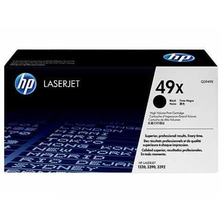 HP 49X Yüksek Kapasiteli Siyah Orijinal LaserJet Toner Kartuşu Q5949X