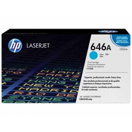 HP 646A Mavi Orijinal LaserJet Toner Kartuşu CF031A
