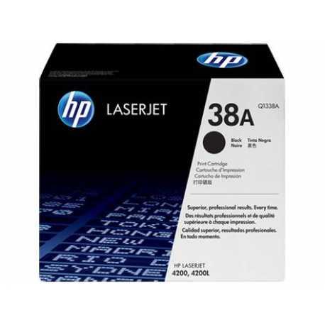 HP Siyah - Beyaz Lazer Toneri Yazıcı Kartuşları HP 38A Siyah Orijinal LaserJet Toner Kartuşu Q1338A