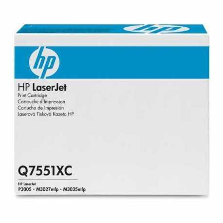 HP 51XC Yüksek Kapasiteli Siyah Orijinal LaserJet Toner Kartuşu Q7551XC
