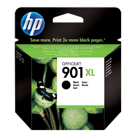 HP 901XL - CC654AE SİYAH ORJİNAL YÜKSEK KAPASİTELİ KARTUŞ