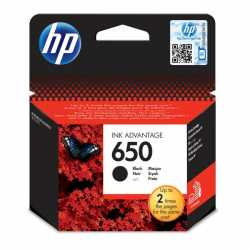 HP 650 SİYAH ORJİNAL KARTUŞ HP CZ101A