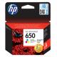 HP 650 RENKLİ ORJİNAL KARTUŞ HP CZ102A