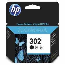 HP 302 SİYAH ORJİNAL KARTUŞ HP F6U66A