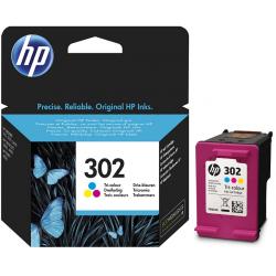 HP 302 RENKLİ ORJİNAL KARTUŞ HP F6U65A