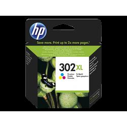 HP 302XL Yüksek Kapasiteli Üç Renkli Orijinal Mürekkep Kartuşu (F6U67AE)