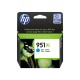 HP 951XL Yüksek Kapasiteli Camgöbeği Orijinal Mürekkep Kartuşu (CN046AE)