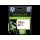 HP 951XL Yüksek Kapasiteli Macenta Orijinal Mürekkep Kartuşu (CN047AE)