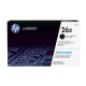 HP 26X Yüksek Kapasiteli Siyah Orijinal LaserJet Toner Kartuşu (CF226X)