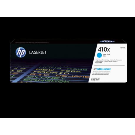 HP 410X Yüksek Kapasiteli Camgöbeği Orijinal LaserJet Toner Kartuşu (CF411X)