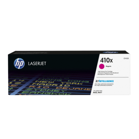 HP 410X Yüksek Kapasiteli Macenta Orijinal LaserJet Toner Kartuşu (CF413X)