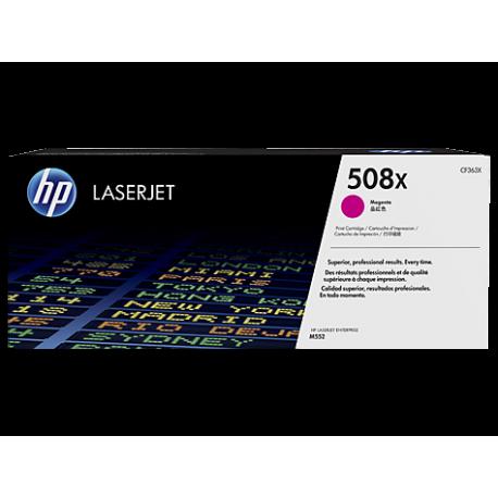 HP 508X Yüksek Kapasiteli Macenta Orijinal LaserJet Toner Kartuşu (CF363X)