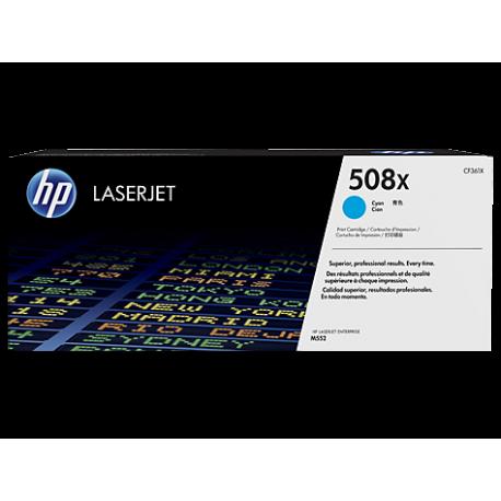 HP 508X Yüksek Kapasiteli Mavi Orijinal LaserJet Toner Kartuşu (CF361X)