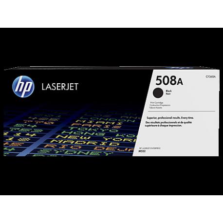 HP 508A - CF360A Siyah Orijinal LaserJet Toner Kartuşu